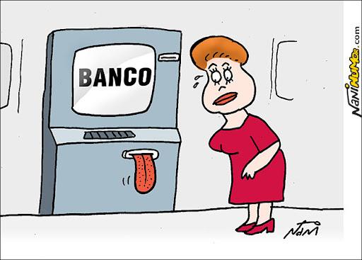 Bancos reagem a Dilma