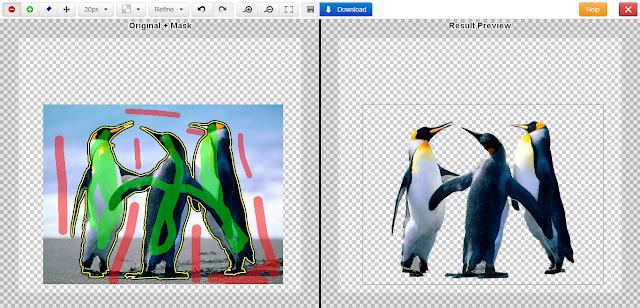 حذف و تغيير خلفية الصورة بدون برامج