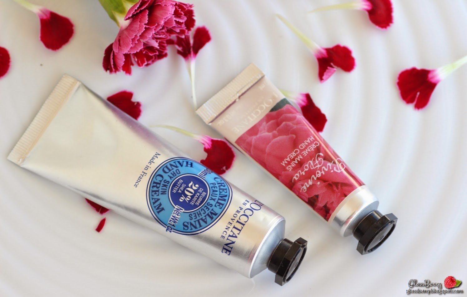 L'Occitane - Hand Cream קרם ידיים לוקסיטן ל'אוקסיטן המלצה פירות ריחות פרחים גלוסברי בלוג איפור וטיפוח glossberry beauty blog