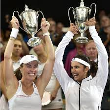Sania Mirza and Martina Hingis sets up new world record