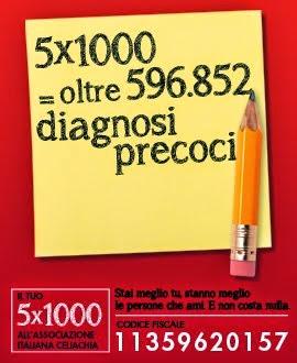 IL TUO 5x1000 PER L'AIC