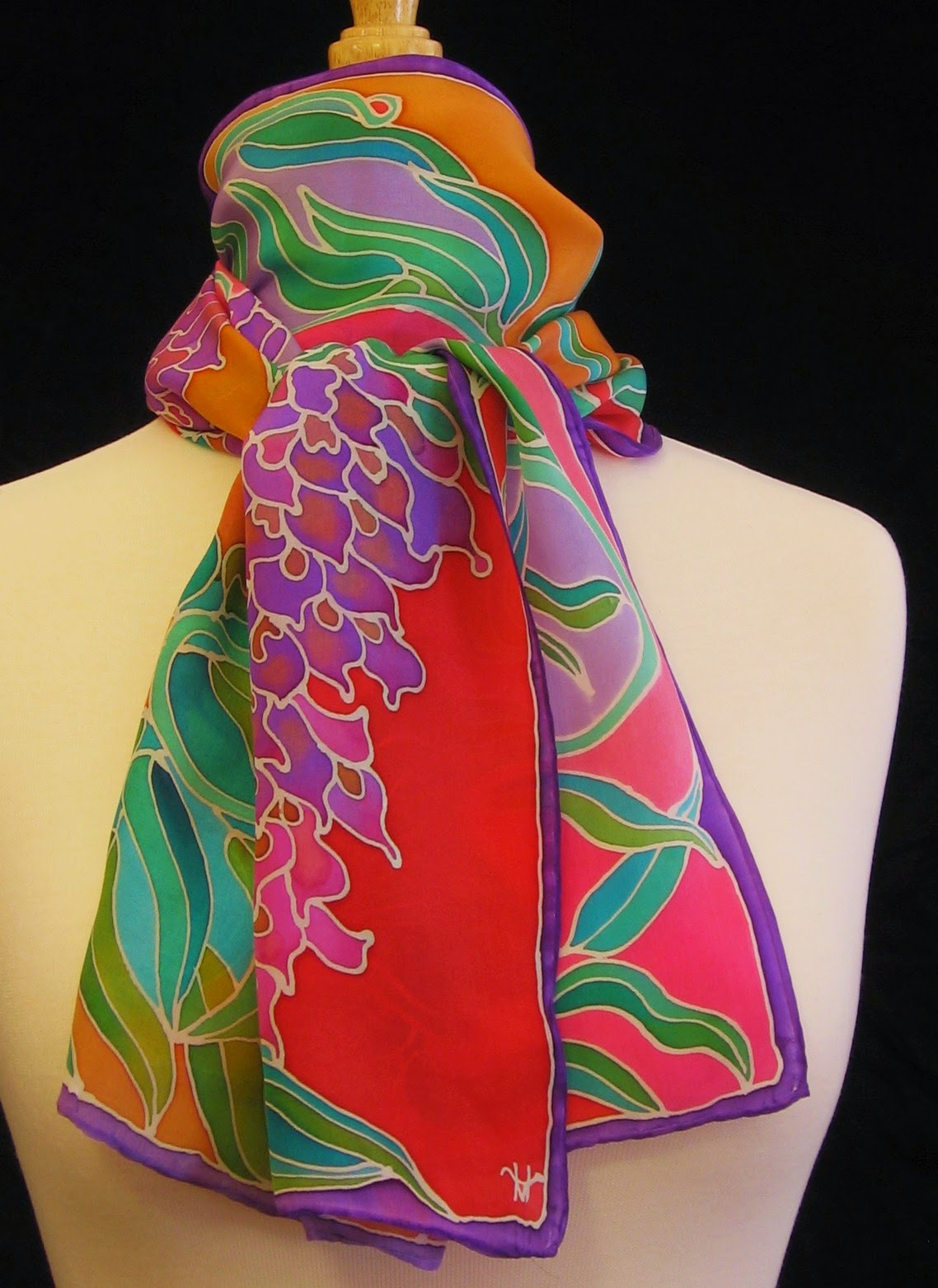 Hellenne Vermillion Art Silk Classes