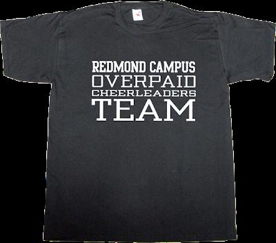microsoft steve ballmer Redmond t-shirt ephemeral-t-shirts