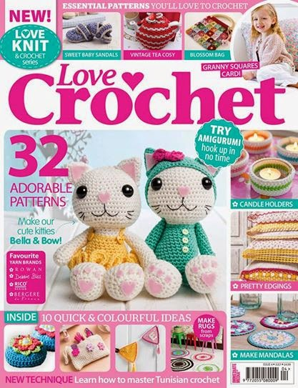 Amigurumi Made Easy Magazine : Amigurumi Barmy: Kitty Kats