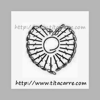 Sousplat Círculo com Corações para os apaixonados