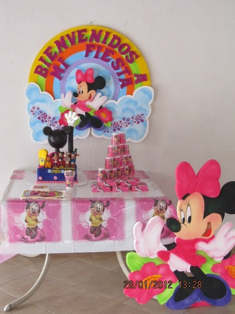 Fiesta Minnie Mouse Decoracion Fiesta Tematica Minnie Mouse Decoracion