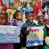 Presidente de Sudafrica visita a Mandela en su cumpleaños