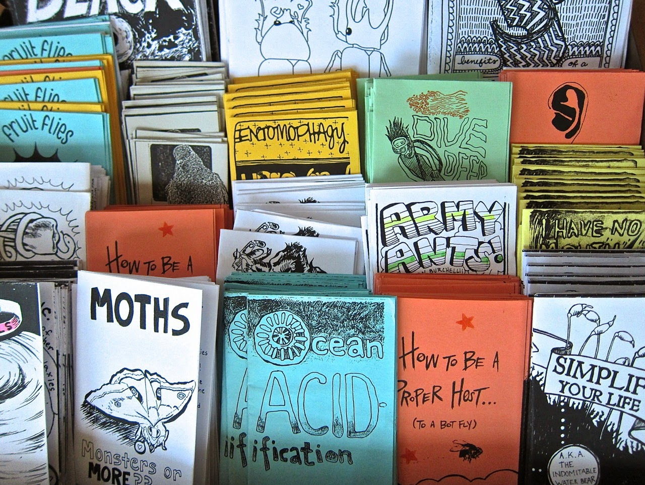 Classroom Collaboration Ideas ~ The small science collective zines for cake