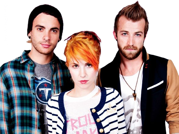 Paramore, Hayley Williams, Jeremy Davis, Taylor York