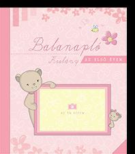 Babanapló – Az első évem (kislány)