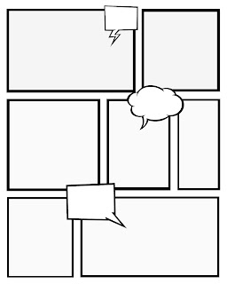 printable blank comic strip template for kids - pin blank comic strip templates for kids constellation