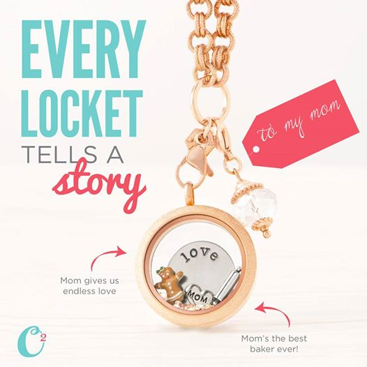 Create an Origami Owl Living Locket for your Mother at StoriedCharms.com