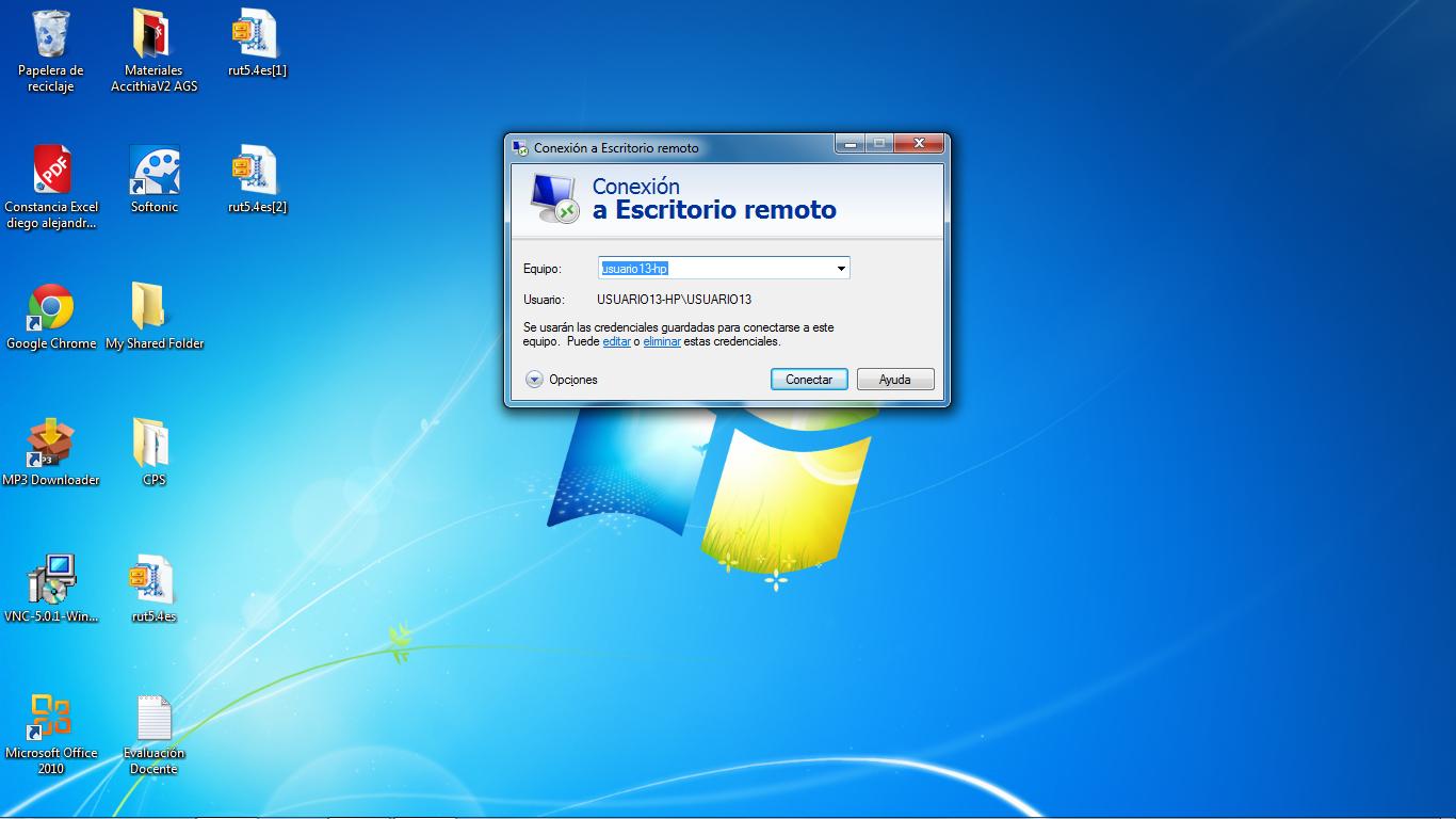 Software de control remoto - Puerto de conexion remota ...