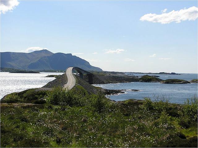 Storseisundet Bridge, na Noruega