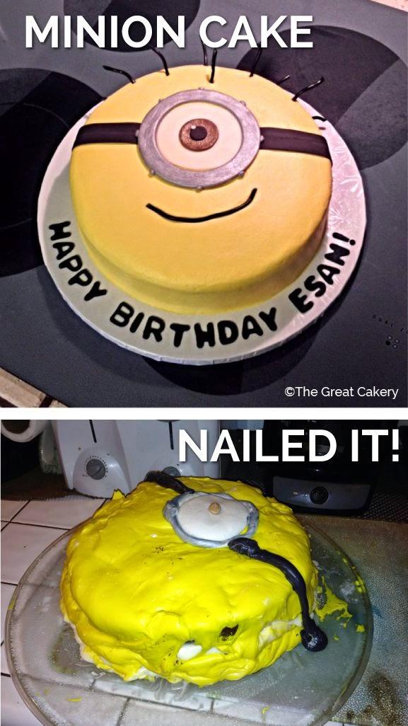 D Minion Cake Topper