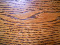 photo of oak wood grain