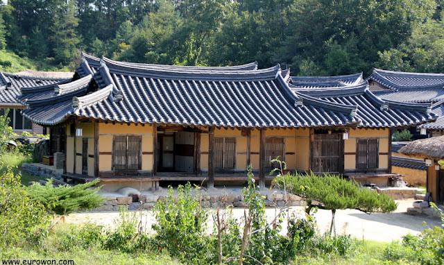 Hanok de aldea tradicional Museom