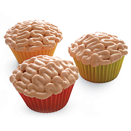 Party with a K...THE BLOG: Recipe of the Day: Brain Cupcakes