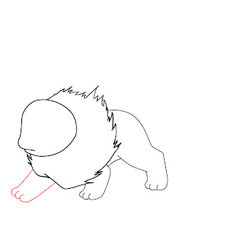 How To Draw Flareon Step 5