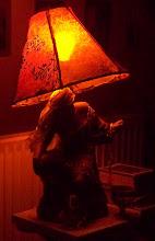 la mia lampada trasformata....