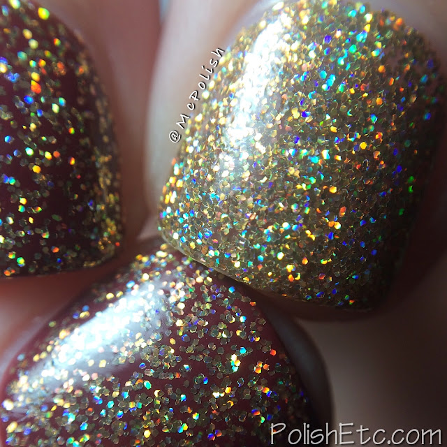 Nine Zero Lacquer - Holiday 2015 Collection - McPolish - Star on Top