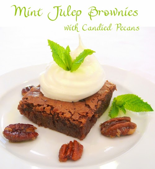 Kentucky Derby Mint Julep Brownies | DerbyMe.com