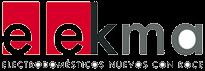 Elekma Logo - Electrodomesticos nuevos con roce