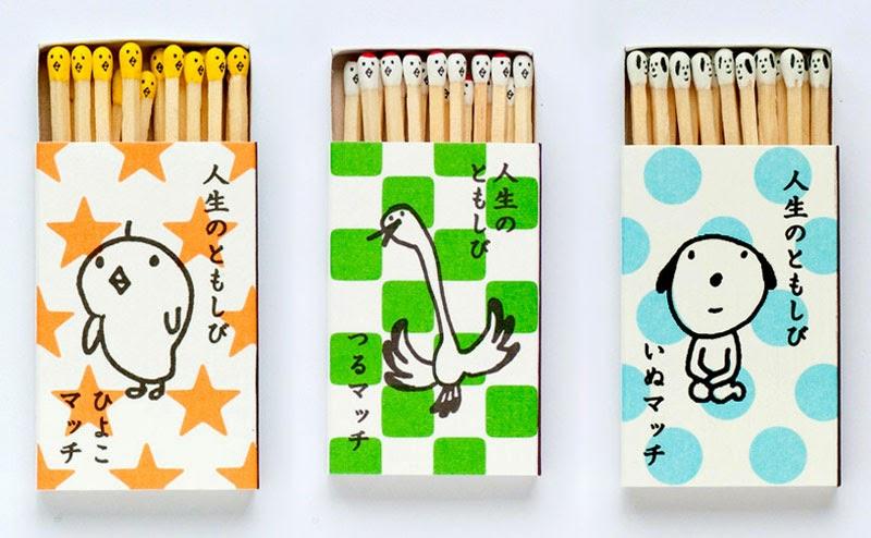 cerillas de diseño: Hiromi Hirasaka matches