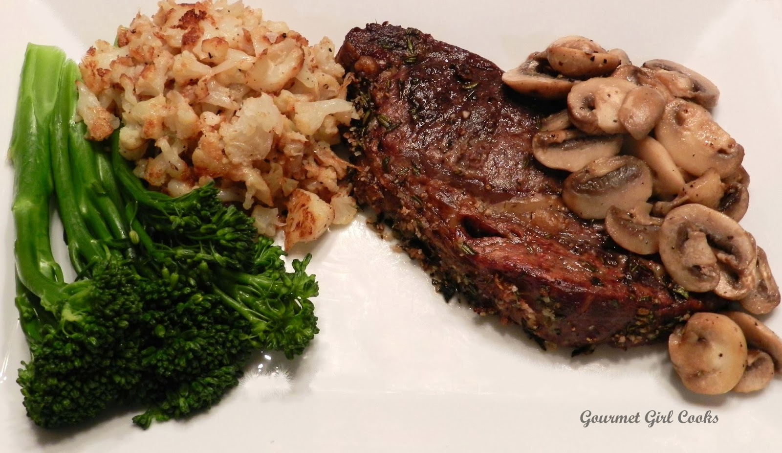 Herb Crusted Rib Eye Roast Recipe — Dishmaps