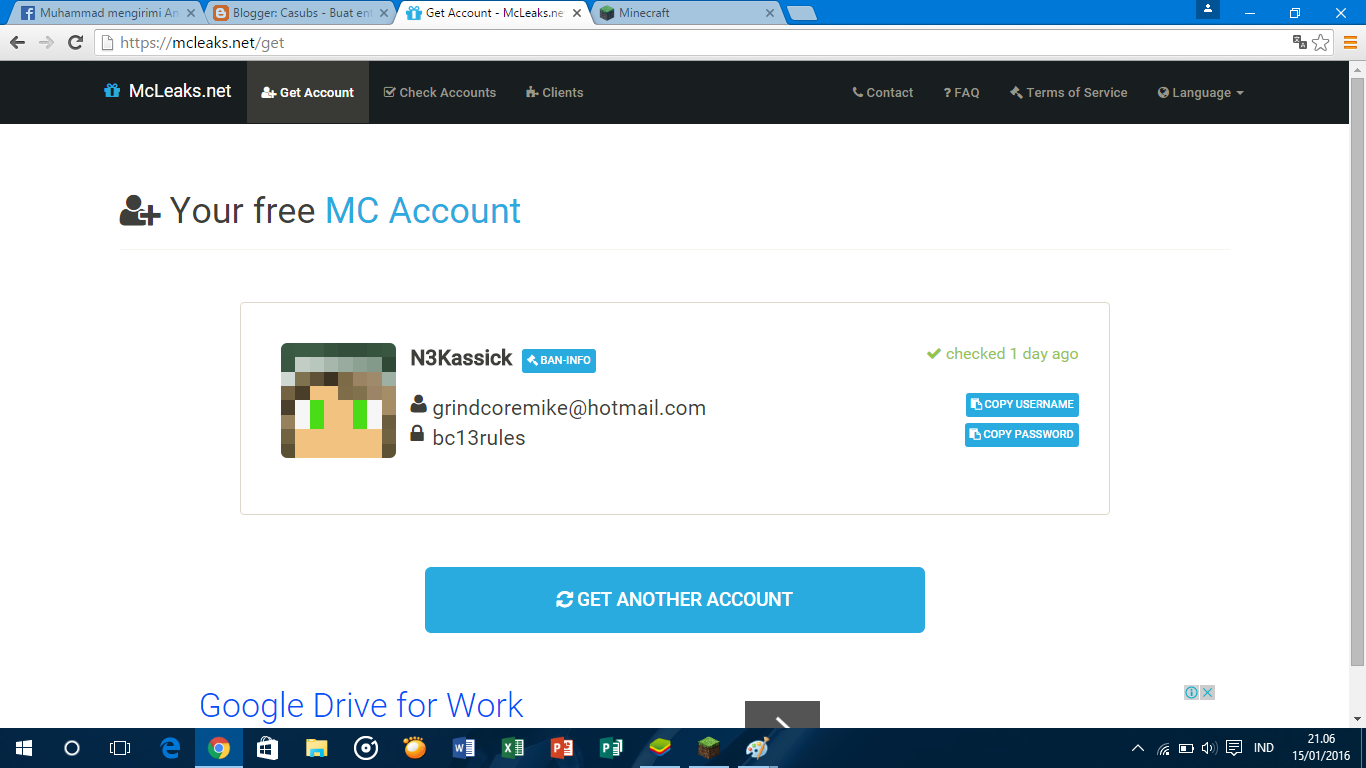 How To Get Free Minecraft Original From Minecraft Website And How Get Account Account Original Premium Minecraft Casubs