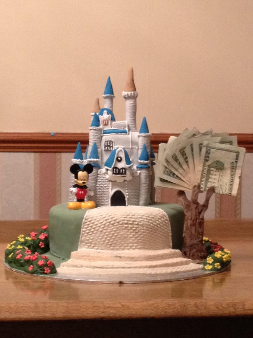 Grahams Disney Birthday Cake