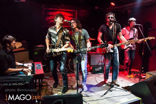 Justo y los Pecadores - Rocksound, Barcelona 12-12-15