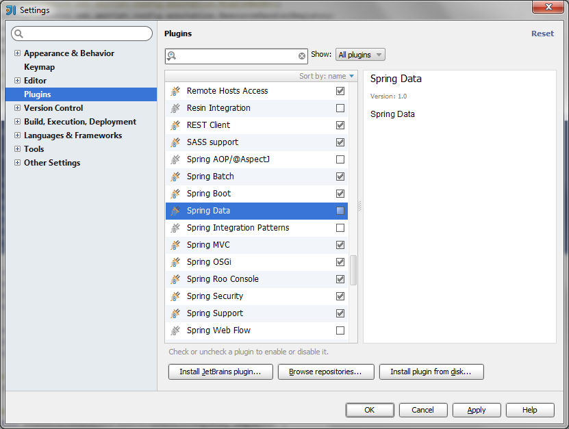 Philip tenn intellij idea spring data plugin and recognizing after enabling the spring data plugin and restarting intellij here was my result so happy ccuart Image collections
