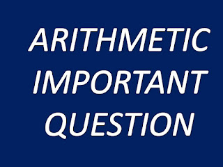 QUEST FOR ARITHMETIC :: IBPS CLERK MAINS IMPORTANT TOPICS