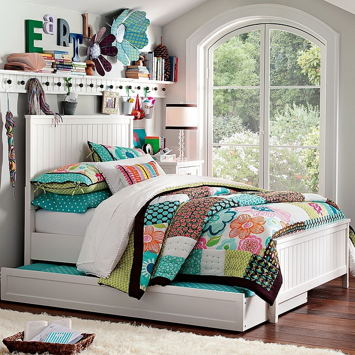 Modelos de dormitorios para chicas adolescentes - Habitaciones modulares juveniles ...