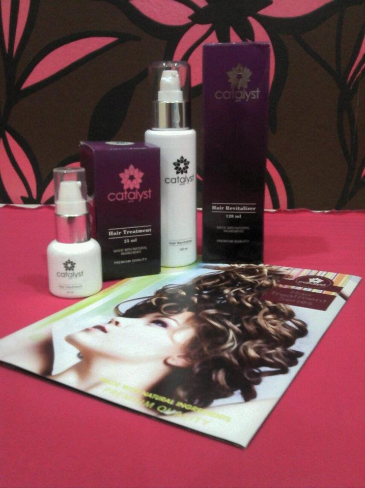 Catalyst Hair Treatment untuk masalah rambut