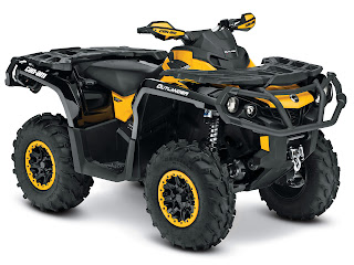 2013 Can-Am Outlander XT-P 1000 ATV pictures 1