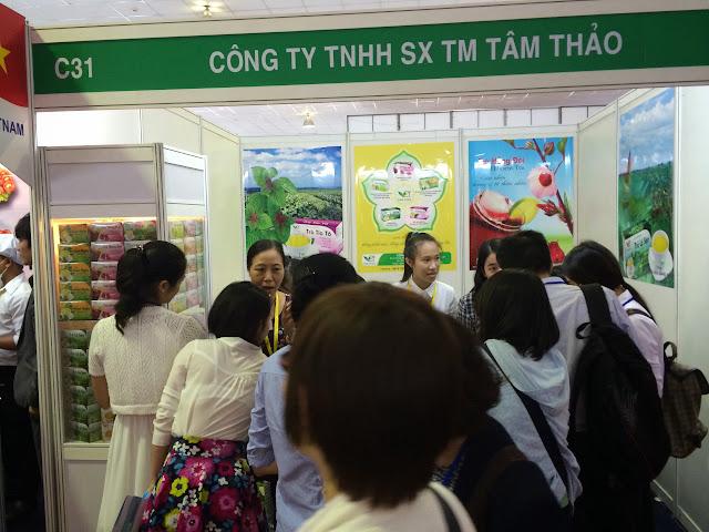 Tâm Thảo tham dự Triển lãm Quốc tế Thực phẩm và Đồ uống Việt Nam lần thứ 18 năm 2014