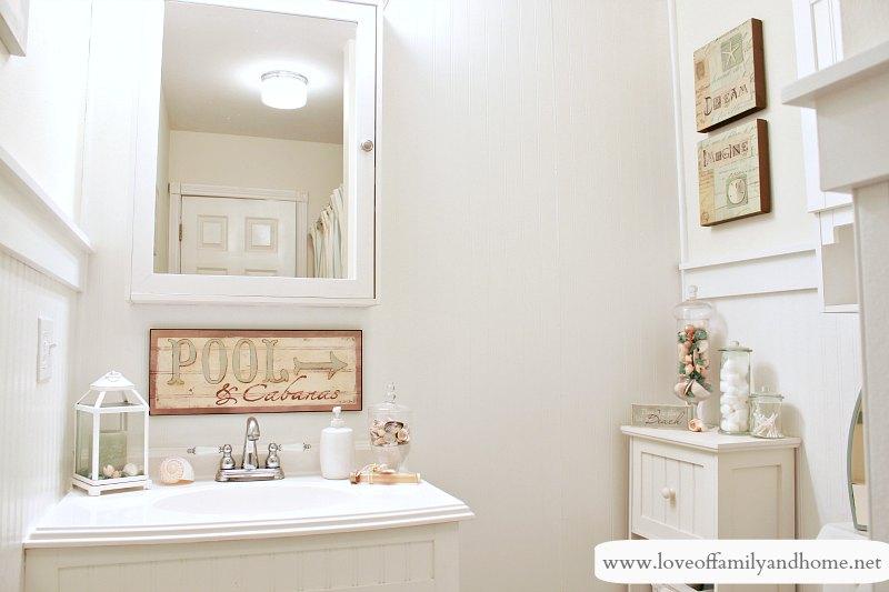 Nice Hallway Bathroom Makeover Reveal