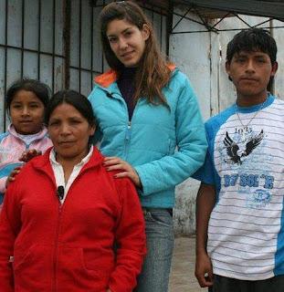 Tilsa Lozano en Vidas Extremas