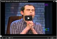 los comediantes de la noche presentan a Ricardo Quevedo