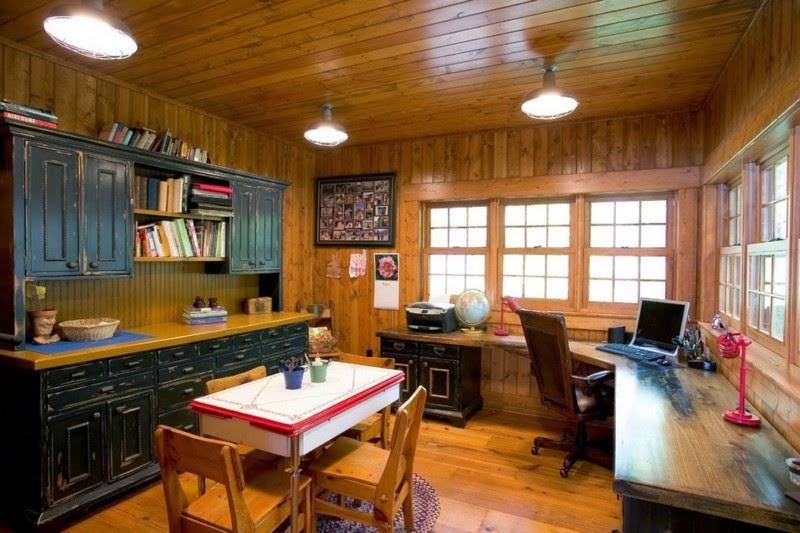 Деревянный дом в американском стиле