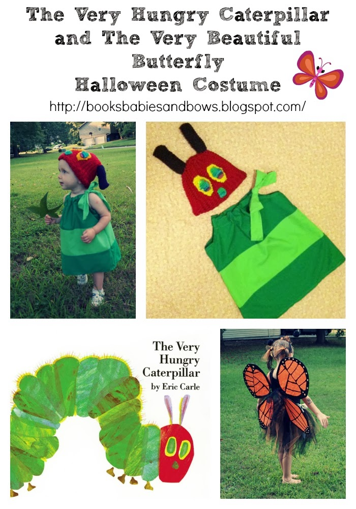 Very Hungry Caterpillar Butterfly Costume Books, Babies, ...