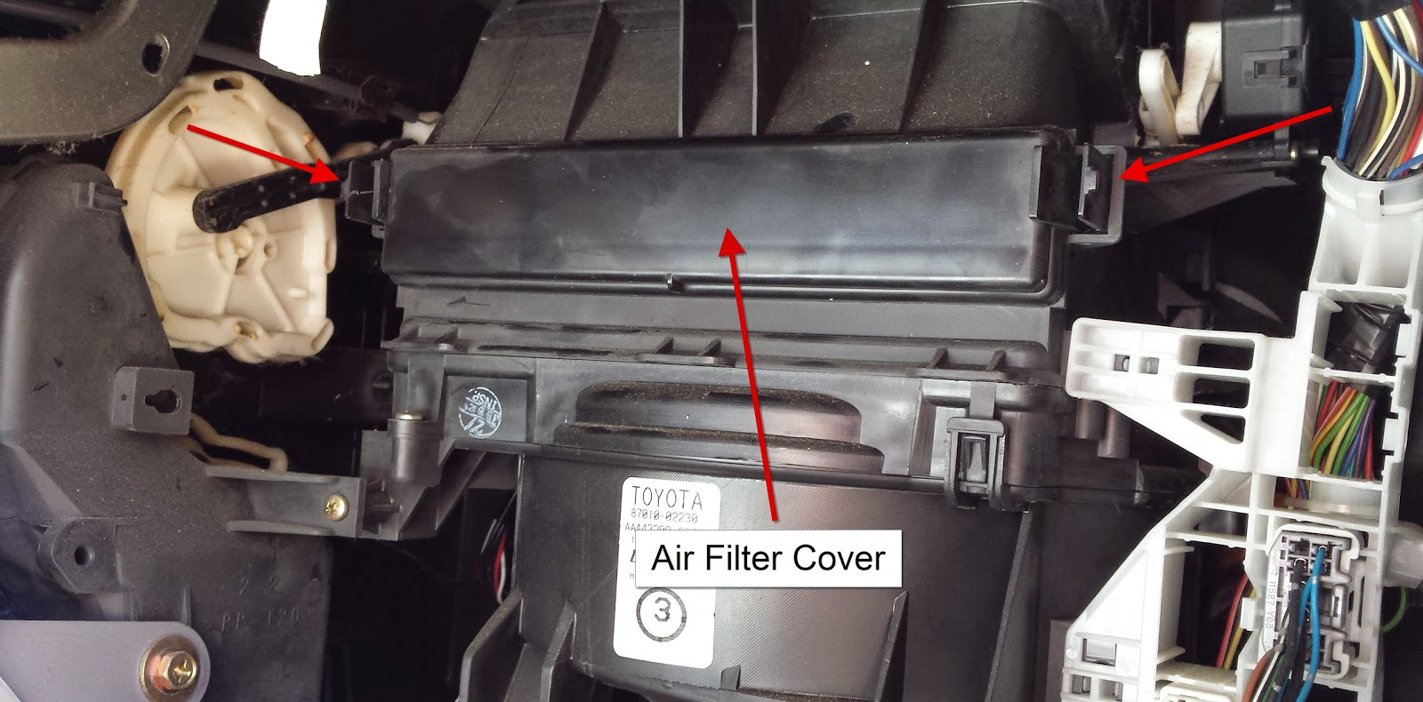 Toyota Matrix Fuel Filter Location 2005 Corolla Change In Cabin Air Nation Forum 1600x790