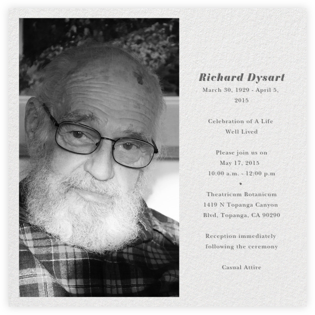 richard dysart obituary