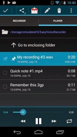 Easy Voice Recorder PRO Terbaru