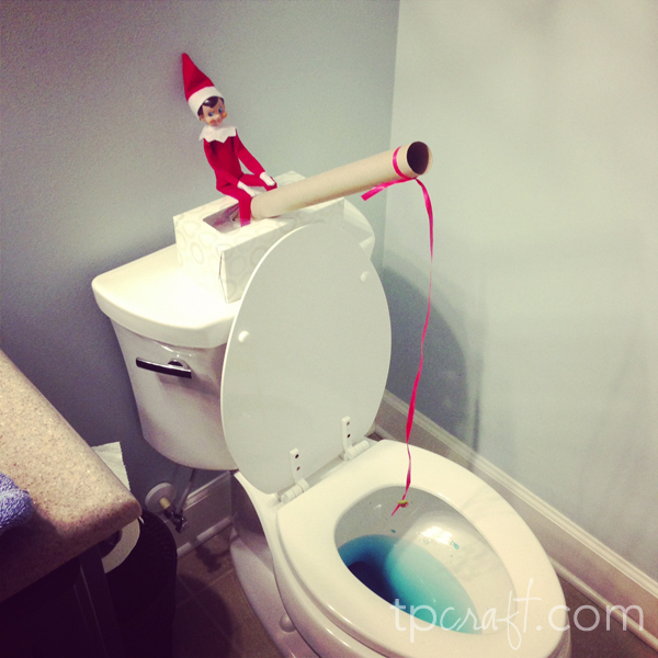 Elf on the Shelf {Day 4} title=