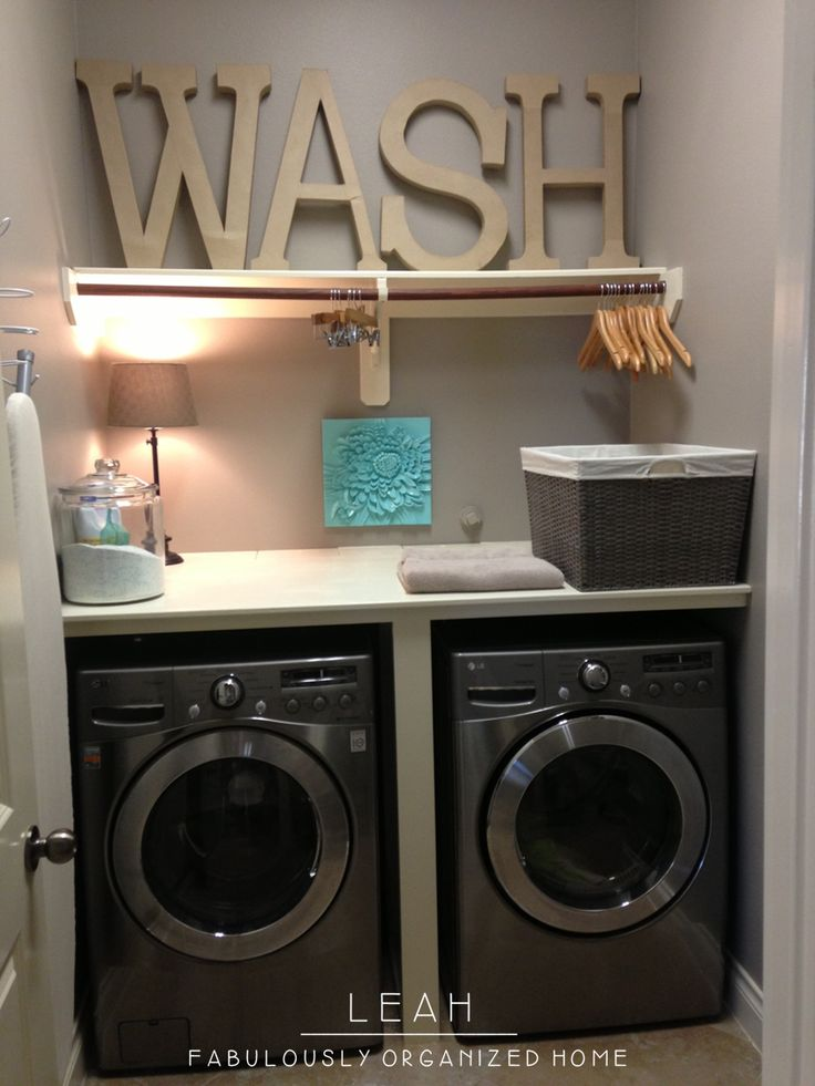 Food Fashion Home Laundry Room Refresh Part 1