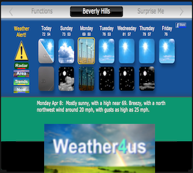 Weather4Us Google TV Channel