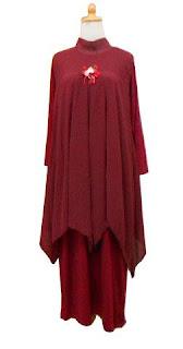 GPL-01 Kaftan dan Gamis Inner Merah Marun Allsize